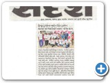 Our 9th Anniversary News in Sandesh